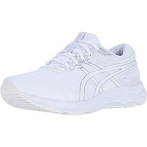 ASICS Women's Gel-Excite 7 Twist Running Shoes, 8.5, White/White