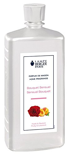 Lampe Berger 116306 Home Fragrance Sensual Bouquet, 1000 ML, Plastique, Multicolore, 13,6 x 13,6 x 22 cm