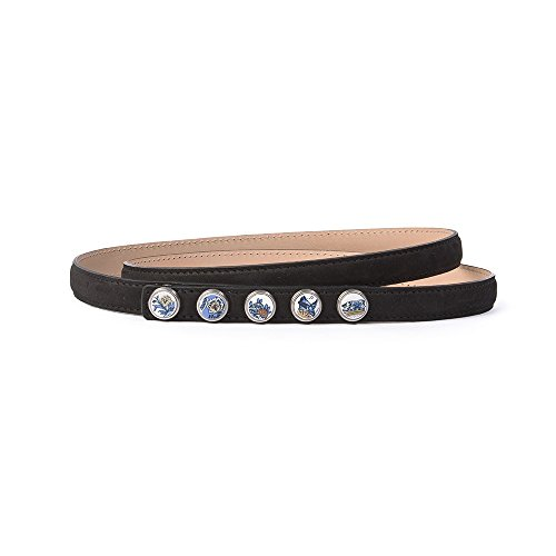 Noosa Gürtel Belt Petite Classic Skinny black, Grösse:85