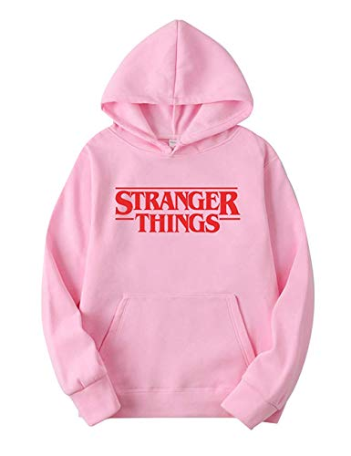 Angel ZYJ Sudadera Stranger Things Hombres, Sudadera Stranger Things Mujer con Capucha Niña y Niños Deporte Casual Impresión Suéter Sudadera Stranger Things Temporada 3 Impresión Suéter