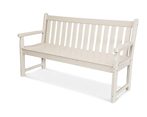 Polywood Tgb60sa Traditionnel Banc de Jardin 152,4 cm, Sable