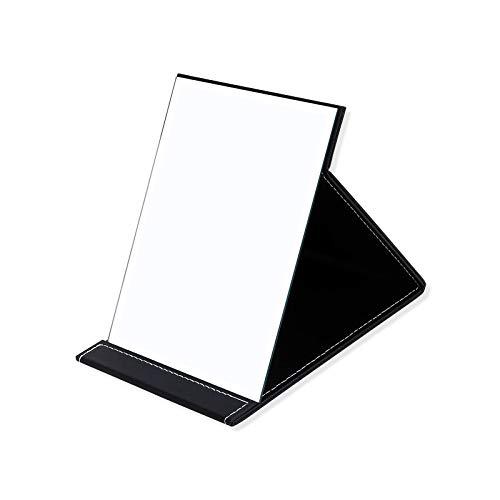 Zusammenklappbarer Spiegel, großer Schminkständer, tragbarer Kosmetikspiegel, Reise-Spiegel, faltbares Make-up