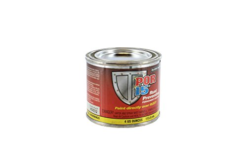 POR 15 45032 - 1 4oz Can Gloss Black Rust Preventative Paint (45006)