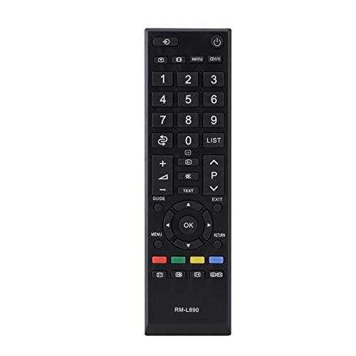 Voluxe Control Remoto, portátil Remoto Universal de tamaño pequeño para TV para el hogar