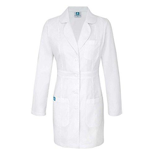 Adar Bata Médica de Laboratorio para Mujeres, Doctoras y Científicos - 2817 Color: Wht | Talla: S
