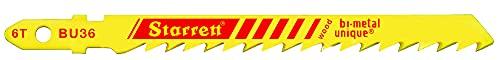 Starrett BU36-5 - Kit de 5 hojas para sierra de calar