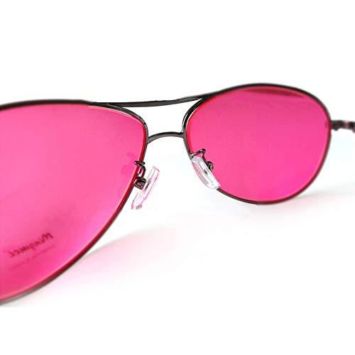 ZUEN Daltónicos Gafas Gafas De Marco De Color Débil Daltónicos Mejorar La Resolución De Color Más Brillante Y Colores Más Saturados Gafas De Sol Daltónicos