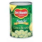 Del Monte Green Lima Beans, 15.25oz Can (Pack of 6)...