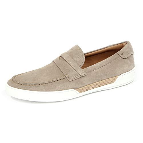 Tod's 1768J Mocassino Uomo beige Scarpe Suede Shoe Loafer Man [6.5]