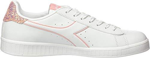 Diadora Damen Game P Wn Fitnessschuhe, Weiß (White/Blossom C6604), 38 EU
