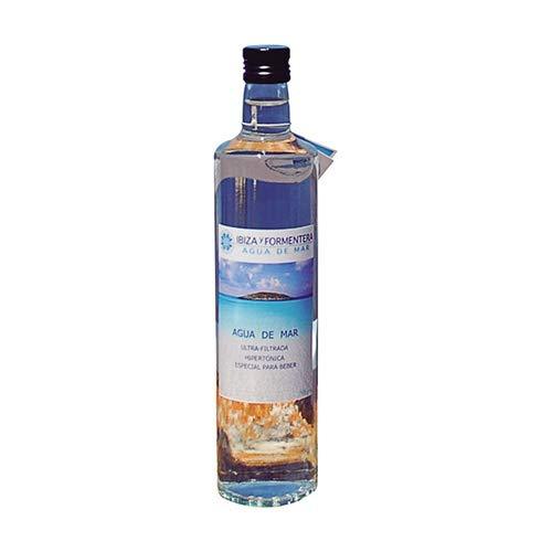 Agua Ibiza Formentera - Agua De Mar 750ml Hipertonica - Nutre tu organismo con todos los minerales y oligoelementos que el mar te ofrece
