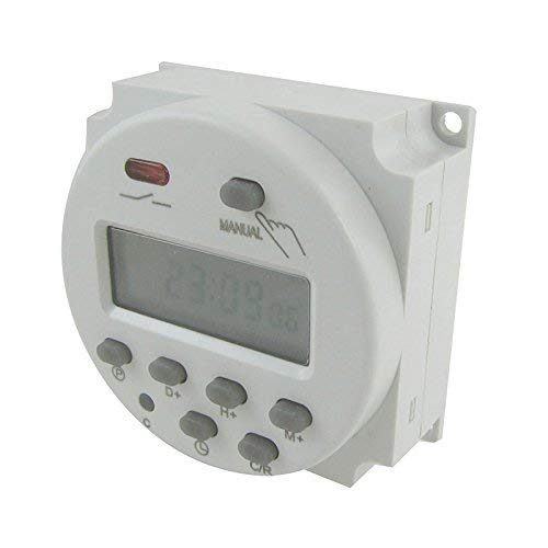ROKOO Digital LCD Power Programmierbarer Timer Time Switch