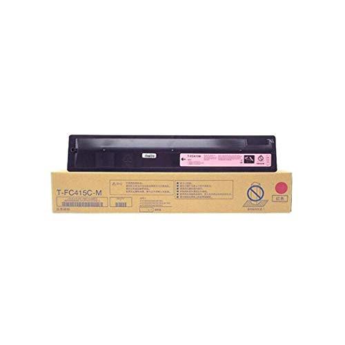 Toner della stampante, compatibile con cartuccia toner Toshiba T-FC415C per Toshiba E-Studio 2010 2510 2515 3015AC Cartuccia copiatrice, 4 colori nero 38000 pagine C red