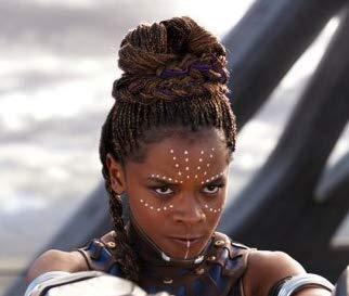 Black Panther 'Shuri' Temporary Tattoos (2-Pack) | Skin Safe | MADE IN...