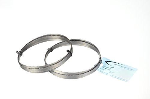 Conjunto de 2 de metal sierra de cinta bi-de metal M 42 dimensiones 1335 x 13 x 0,65 mm 10/14 ZpZ para FEMI 780 XL, 783 XL, 782 XL, Berg y Schmid MBS 85, Flex SBG 4908 y 4910, Alfra, zapatillas, Metallkraft