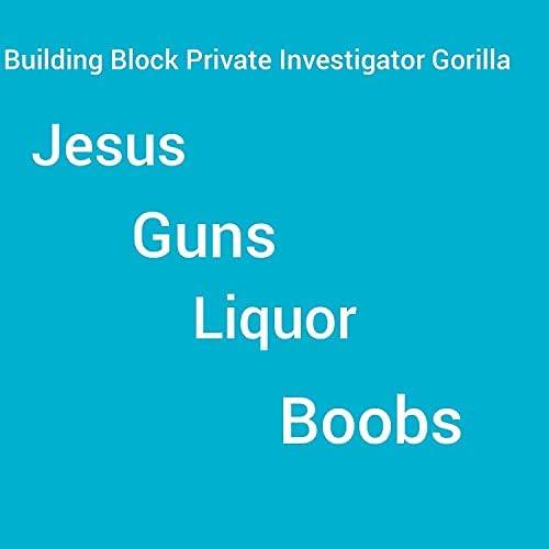 Building Block Private Investigator Gorilla