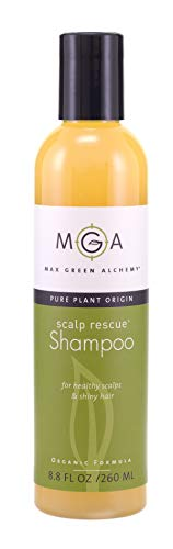 Scalp Rescue Shampoo, 8.8 fl oz, For Healthy & Lustrous Hair, Curly Favorite, Reduces Itchy Scalp, Dandruff & Frizz. No Parabens, Sulfates, PEGs or Quats. Natural Herbal Scent For All Hair Types. With Lemon Tea Tree.