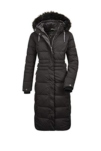 G.I.G.A. DX Ventoso Wmn Quilted Ct B Casual functionele jas in dons-look met afritsbare capuchon