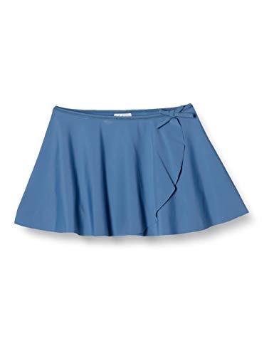 [ダンスキン] スカート キッズ カバースカート ガールズ DAJ60150 スモークブルー 140