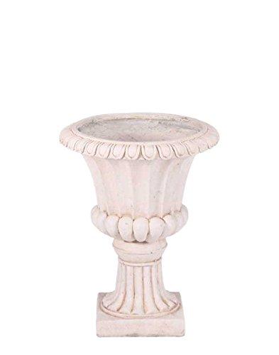 APAC 37x29x29cm Moderna Garden Urn 'Frost Proof' Cream