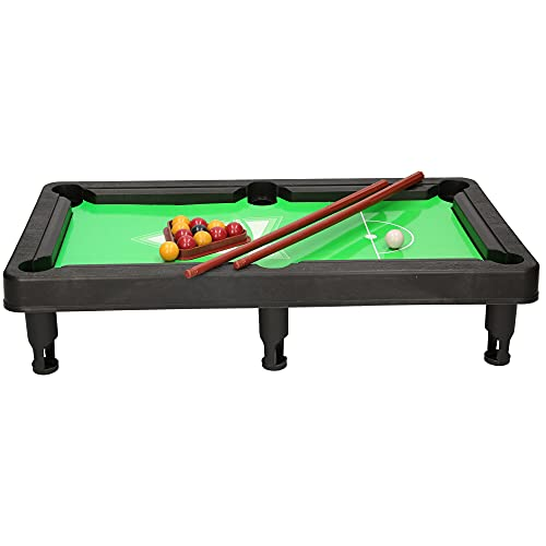 A to Z 08068 Children's Kids Toy Mini Top Pool Table Game, 30 x 17.5 cm