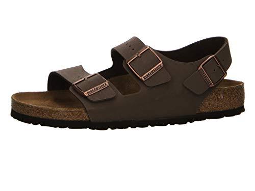 Milano Sandals Unisex Birko Flor Nubuk Mocca