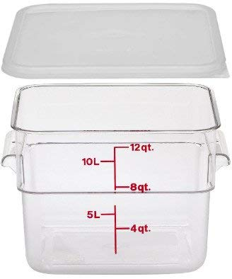 Cambro 12 Quart With Lid
