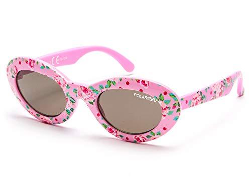 KIDDUS Baby zonnebril GEPOLARISEERD voor jongens, meisjes, kleine kinderen, peuters, pasgeborenen. Vanaf 8 maanden. Met Flexibele Pootjes. UV400 100% Zonne-Filter. Veilig, comfortabel onbreekbaar