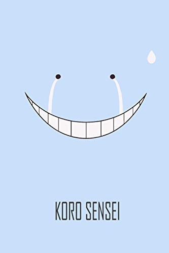 KORO SENSEI: Koro Sensei Teacher of Assassination Classroom ,Matte Cover  'Sad State' Journal for Writing, Gift, School&Office, College Ruled Size '6 x 9', 120 Pages