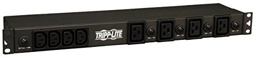 Tripp Lite Basic PDU, 30A, 20 Outlets (16 C13 & 4 C19), 200/208/240V, L6-30P Input, 15' Cord, 1U Rack-Mount Power, 5 Year Warranty (PDU1230)