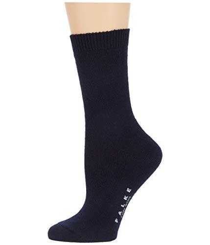 Falke Damen Socken Cosy Wool 2er Pack, Größe:35-38;Farbe:dark navy