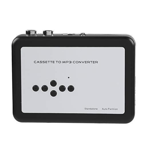 Sutinna Convertitore da Nastro a MP3, Lettore di Cassette Portatile per acquisizione Audio Digitale Lettore Musicale con Driver Flash USB Adatto per Windows XP Vista 7 8