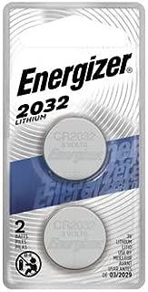 Eveready Battery 2032BP-2N Lithium Watch/Calculator Batteries, 3-Volt, 2-Pk. - Quantity 1