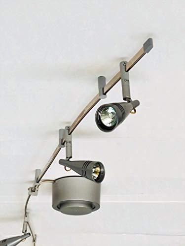 Schienensystem Flexline 3 Strahler 12V Track System 3 x35W MR11 Spot-Deckenlampe Spotlight Wand-Spot-Arbeits-Büro-Strahler-Decken-Leuchte