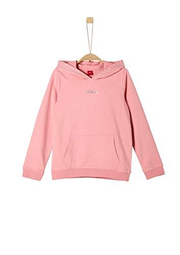 s.Oliver Mädchen 66.908.41.2334 Sweatshirt, Rosa (Light Pink 4273), 140 (Herstellergröße: S/REG)