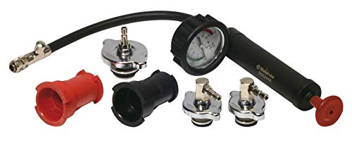 Bike Service Attrezzo controllo impianti raffreddamento/radiatori (Attrezzi Motore) / Cooling system & radiator pressure test (Engine Tools)