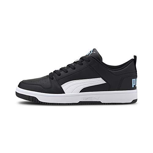 PUMA Herren 369866-07_39 sneakers, Puma Black White Palace Blue, 39 EU