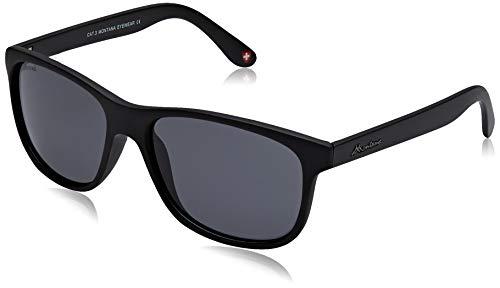 Sunoptic Unisex-Erwachsene Montana Sonnenbrille, Schwarz (Black/Grey),