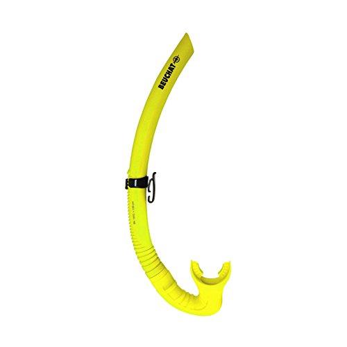 Beuchat SPY Schnorchel - passend zu Maxlux Masken, Farbe:Neon Gelb