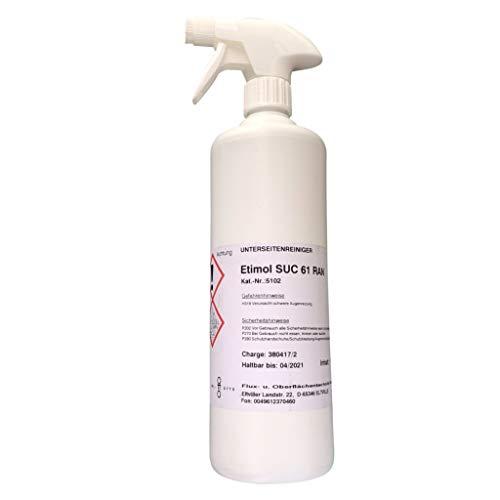 Schablonen-Unterseitenreiniger Etimol SUC 61 RAN (wasserbasierend), 1.000 ml Sprüflasche für die manuelle Reinigung von SMD-Schablone