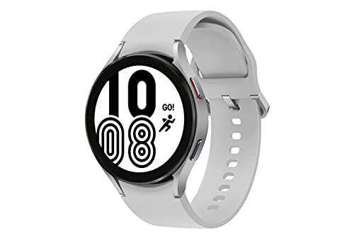 Samsung Galaxy Watch4 Bluetooth(44mm, Silver, Compatible with Android only)