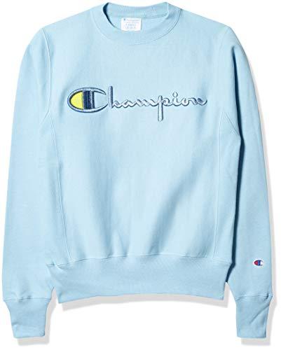 Champion Herren Reverse Weave Sweatshirt, Candid Blue-586047, Large
