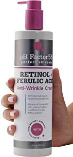 PH Factor 5.5 Retinol Cream for face and body with Ferulic