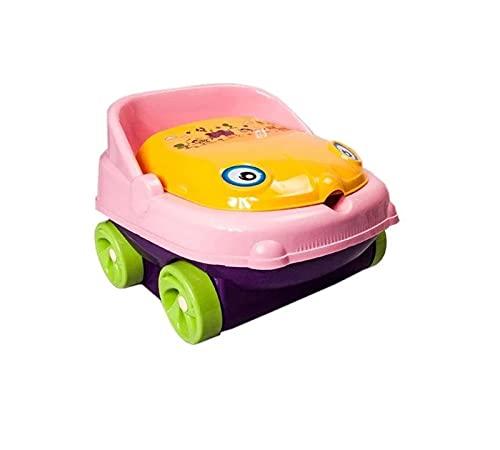 yitao Asiento De Inodoro Orina Musical Putty Car Potty Baby Ways Asiento Pot Bowl Lindo Niños Niños Niños Entrenamiento Plástico Potty BPA-Free (Color : Purple)