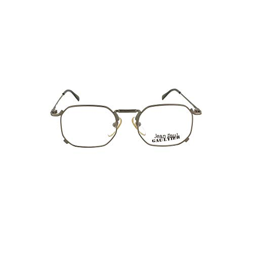 Jean Paul Gaultier Luxury Fashion Herren 558175GREY Grau Metall Brille | Jahreszeit Permanent