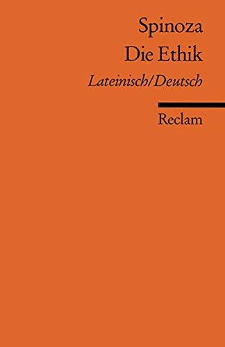 Universal-Bibliothek Nr. 851: Die Ethik ( Lateinisch und Deutsch )