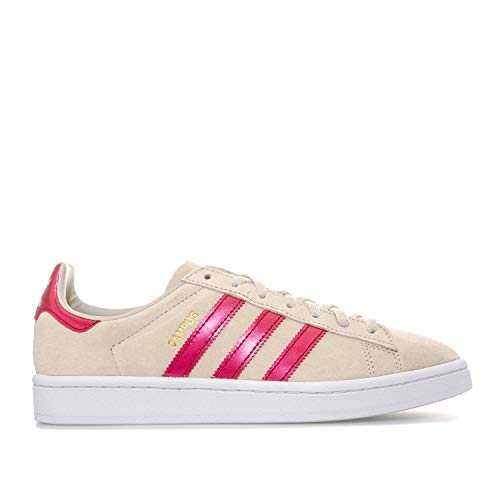 Womens adidas Originals Campus Trainers in Clear Brown