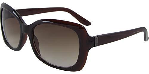 AZ-Eyewear Wayfarer - Gafas de sol (categoría 3), color marrón y marrón