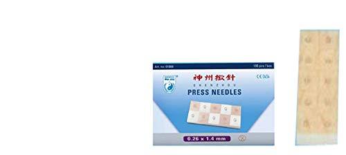100 Stück Ohrdauernadeln, Dauernadeln v. Shenzhou 0,20 x 1,4 mm - sehr gute Qualität