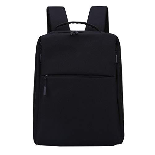 14-Zoll-Laptoprucksack Geschäftsreiserucksack, wasserdichter Nylonrucksack für Herren, beiläufiger Computerrucksack für Herren, Studententasche, Rückenbelüftungssystem, bequem und atmungsaktiv Nostera